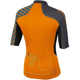 Karpos Teck Evo Jersey Men orange fluo/black
